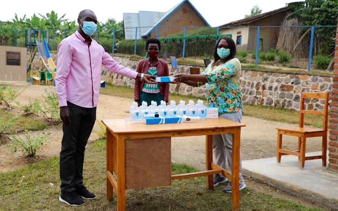 Assisting Rwanda's continuous efforts to fight COVID-19